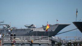 La Armada desembarca en el mar Báltico con cuatro buques y 1.760 marinos