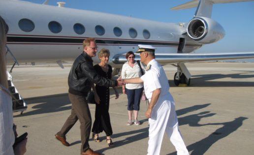 El subsecretario de la US Navy se entrevista con altos cargos de Exteriores y Defensa
