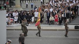 Francia, 14 de Julio: el desfile militar español en París