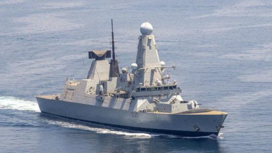 El destructor Duncan atraca en Gibraltar tras volver del Estrecho de Ormuz