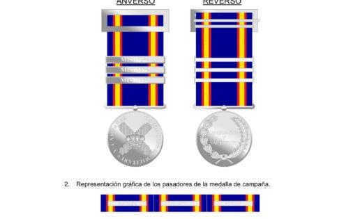 La medalla olvidada de la misión en Irak