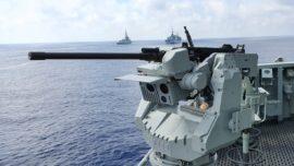La Armada despliega por primera vez torres de tiro operadas remotamente
