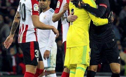 Kepa ruega venir ya, pero el Madrid respeta los códigos con Keylor