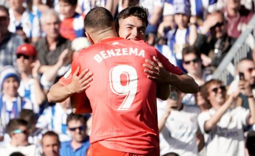 Zidane, cara a cara con Brahim: cuento contigo