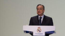 """Florentino Pérez escribe Real Madrid en femenino: jugará en Primera """"de Tacón"""""""
