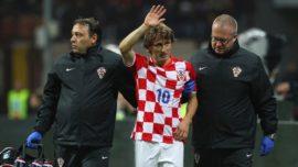 El desastre del calendario de la FIFA provoca otra lesión grave: Modric, un mes de baja