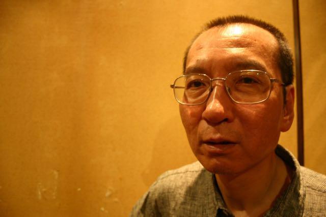 Liu Xiaobo, durante una entrevista que me concedió en 2007, en un aniversario de la masacre de Tiananmen.