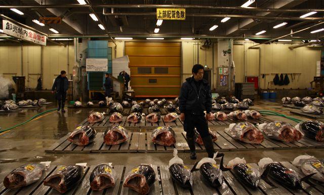 La lonja de Tsukiji, que se trasladará en octubre, es uno de los lugares con más solera de Tokio.
