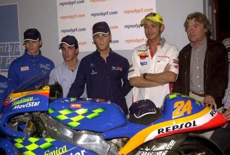 Ángel Nieto quiso pagar el viaje del enviado especial de ABC al Gran Premio de España