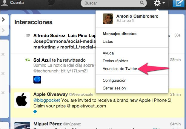 Are the apple giveaways on twitter real madrid