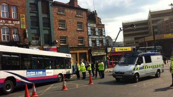 Benidorm «se sale» en el centro de Manchester