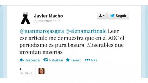 Los tuits de Elena Martín