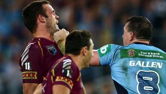 Rugby, puños y titanes