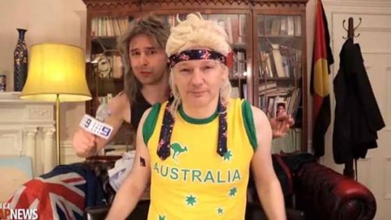 El rap ridículo de Julian Assange