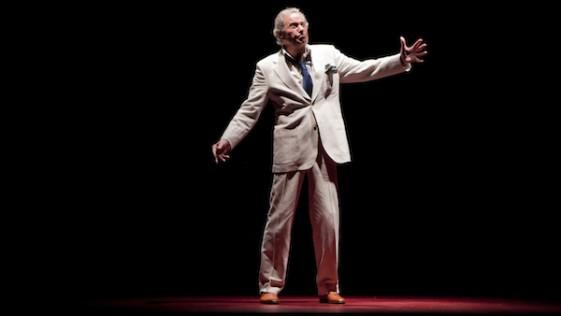 Arturo Fernández, el actor al que adoraba mi padre, da una lección de sabiduría escénica