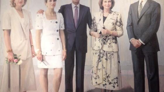 Al salir de Palacio, un pedazo congelado de la historia de España