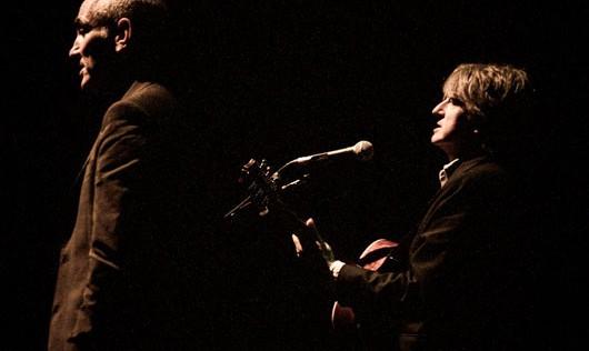Neil Finn y Paul Kelly, iluminada sencillez