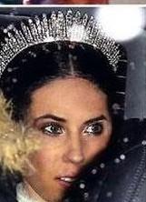 Tatiana Santo Domingo y su vestido de novia