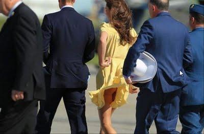 Kate Middleton se queda sin Minifalda