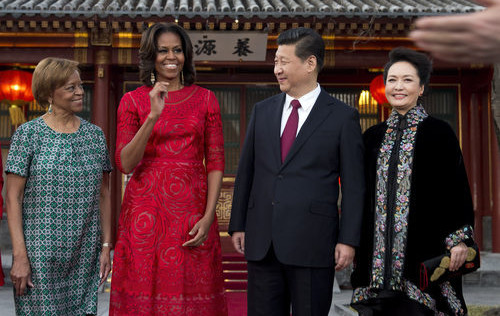 Michelle Obama: Elegancia China