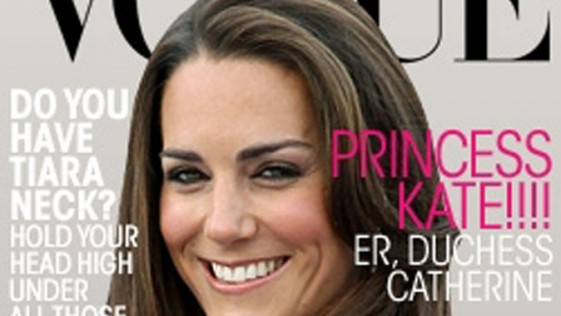 ¿Kate Middleton portada de Vogue?