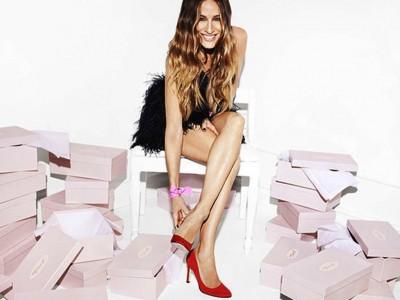 Sarah Jessica y sus zapatos