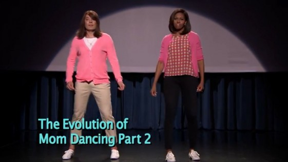 El baile de Michelle Obama