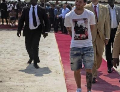 """Lío"" Messi en Gabón"