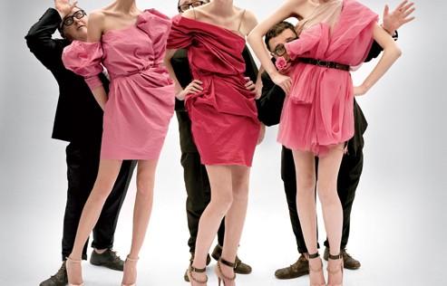 Dior y Lanvin, sin cabeza
