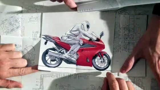 Honda: un anuncio hecho a mano