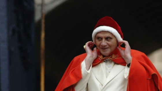 La historia del vestido de Santa Claus