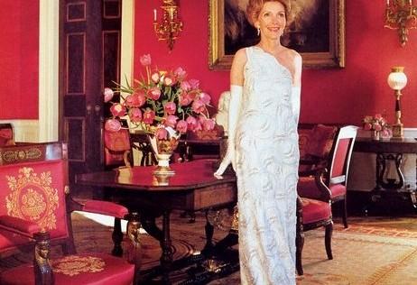 Los increíbles modistos de Nancy Reagan