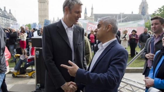 Sadik y Zac en Londres: dos hombres y un estilo