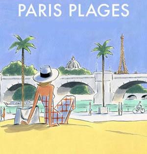 A la playa en París