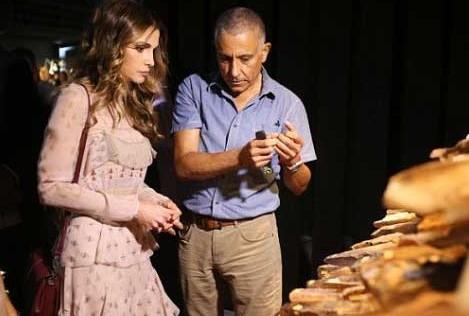 La Reina Rania en su Semana de la Moda