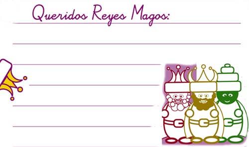 Primera carta a los Reyes Magos online