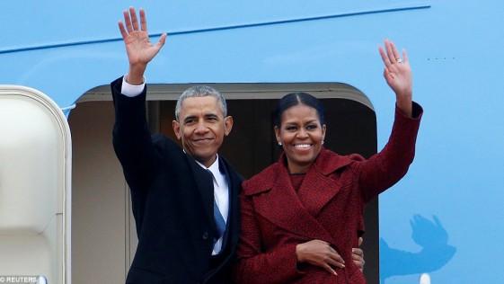 Los Obama en Palm Springs