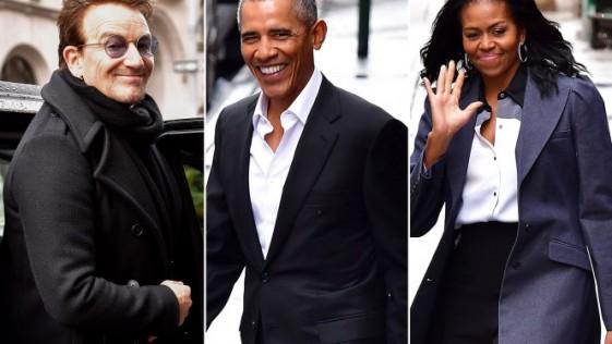 Los Obama en Upland