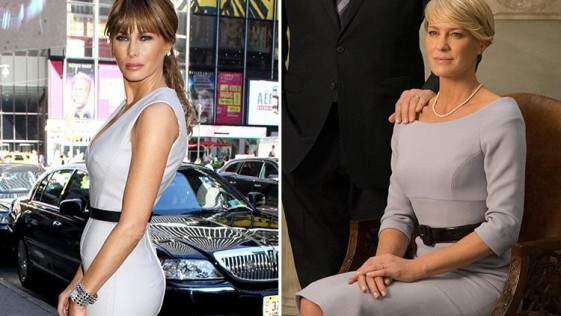 "Melania y ""House of Cards"""