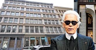 La nueva tienda de Lagerfeld, réplica de su casa
