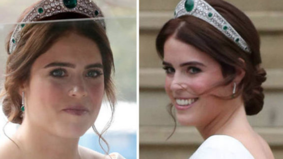 La desconocida tiara de Eugenia de York