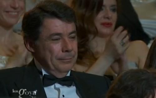 El día en el que el cine español aplaudió a Ignacio González