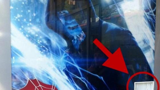 El poder de Electro… en la parada del bus