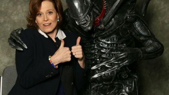 Ripley y Alien, amigos 35 años después