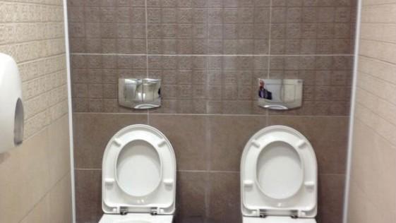Hasta dos retretes por baño en Sochi