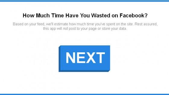 Calcula cuánto tiempo has derrochado en Facebook