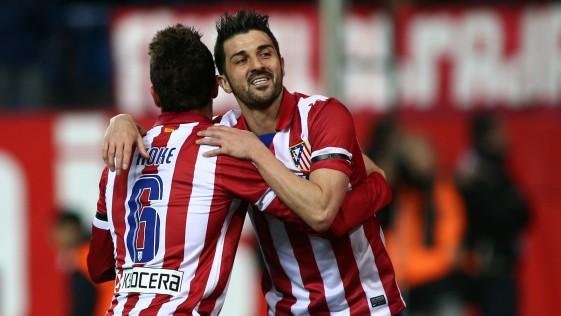 Juanfran, Koke, Villa y Diego Costa, una selección española más atlética que nunca