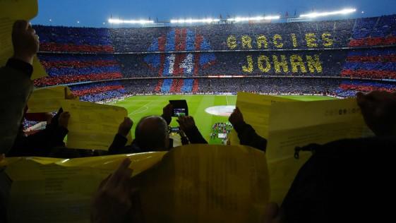 El Barcelona ofrece «sexo telefónico» a «precio popular» en el Camp Nou