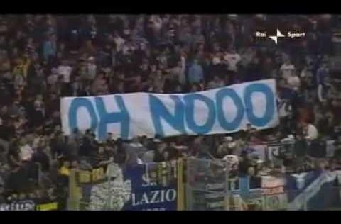 Cuando la Lazio se dejó ganar para que la Roma perdiese