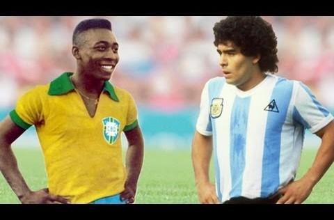 Diario de los Mundiales: 29 de junio, la primera vez de Maradona y Pelé